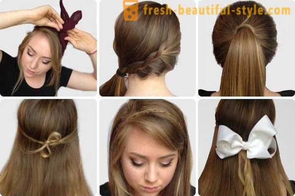Г‰pillet de coiffure de mariage avec des boucles
