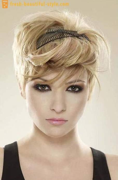 Coiffures Créatives Pour Les Cheveux Courts De Femmes